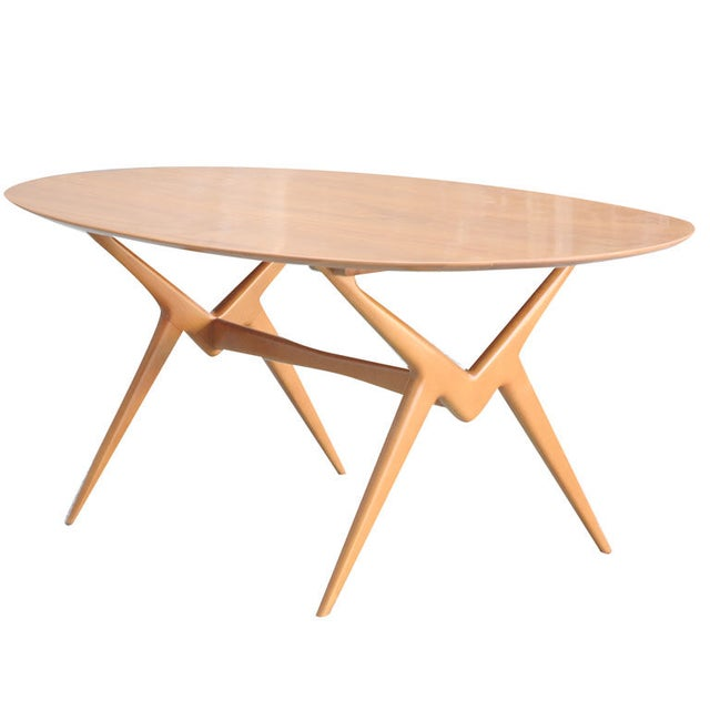 Renzo Rutili Sculptural Dining Table - Image 1 of 3