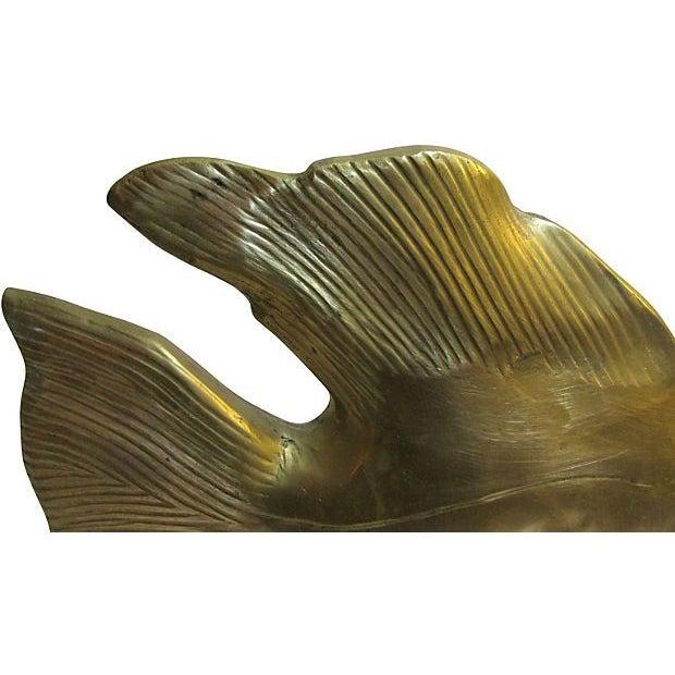 Large Brass Fish - Image 3 of 4