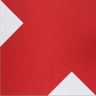 """""""Red Arrow,"""" Original 1975 Serigraph"""