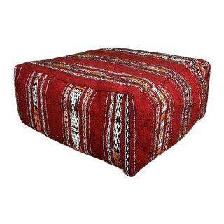 Handmade Moroccan Foor Pillow