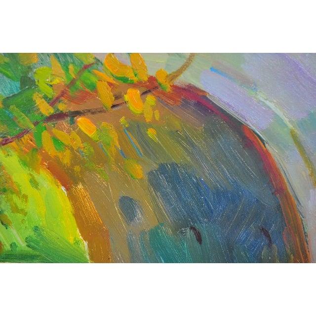 Ovanes Berberian Under the York Bridge Painting - Image 3 of 10