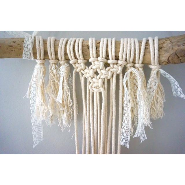 Boho Macrame Wall Hanging - Image 3 of 11