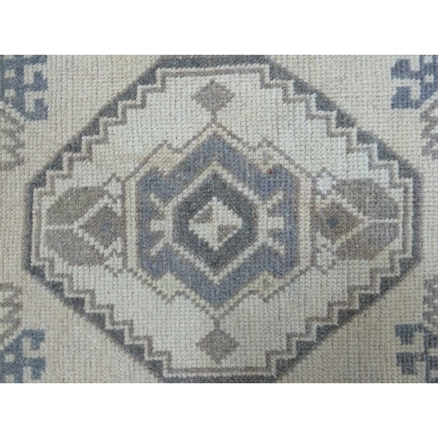 Anatolian Hand-Knotted Rug - 1′7″ × 3′1″ - Image 4 of 6