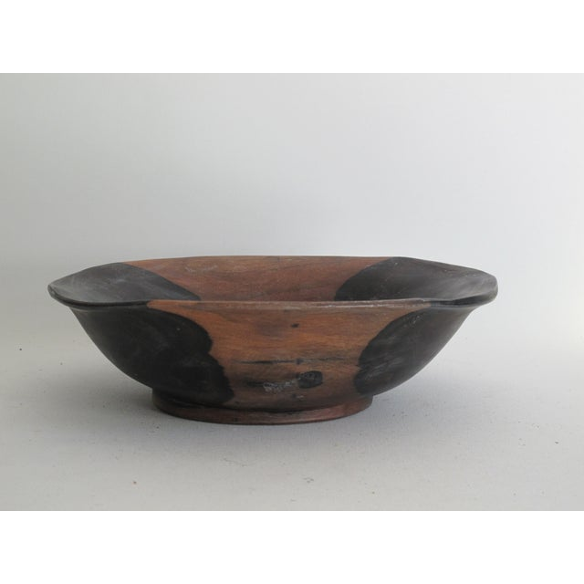 Image of Two-Tone Wood Bowl