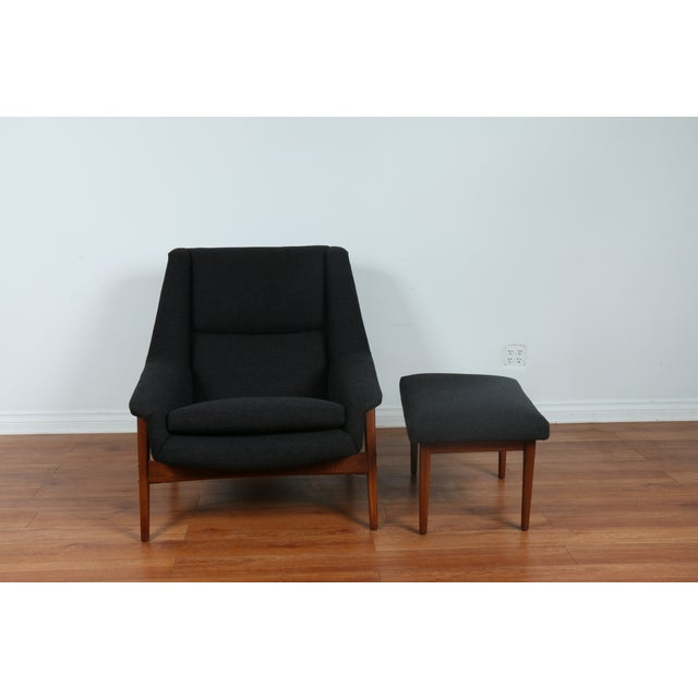Dux Chair and Ottoman by Folke Ohlsson - Image 4 of 11
