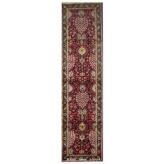 Vintage Persian Tabriz Rug - 3′1″ × 12′9″