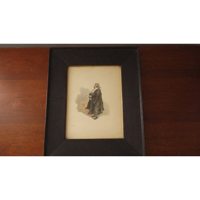Framed 'Your Honor' Judge Print - Image 4 of 7