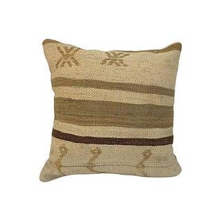 Neutral Kilim Pillow