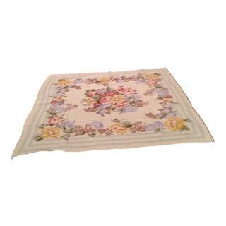 Vintage Silk Ralph Lauren Floral Scarf