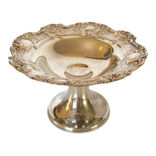 Old Master Towle Silver Pedestal Dish