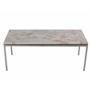 Knoll Marble Coffee Table