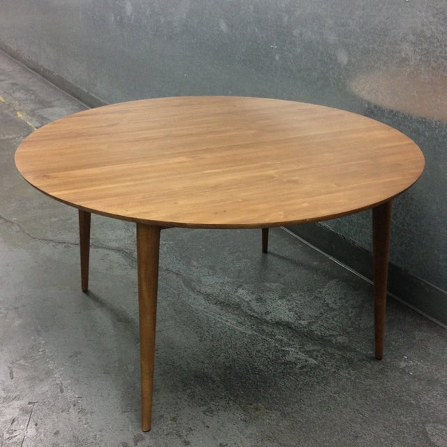 Mid-Century Reclaimed Teak Dining Table - Image 2 of 6
