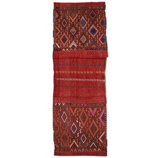 Vintage Red Turkish Saddlebag