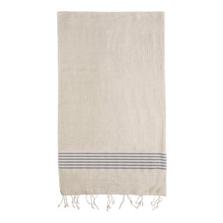 "Turkish Bath Loop Organic Cotton Towel - 31"" x 74"""