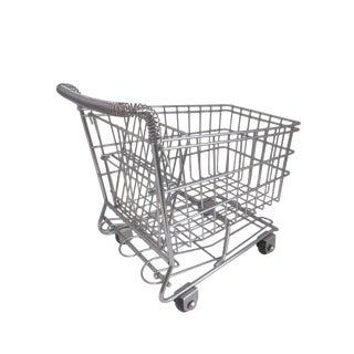 Vintage Pop Art Shopping Cart
