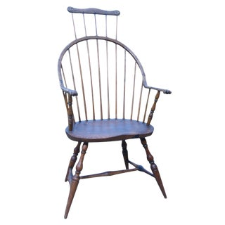Windsor Comb-Back Bow-Back Armchair