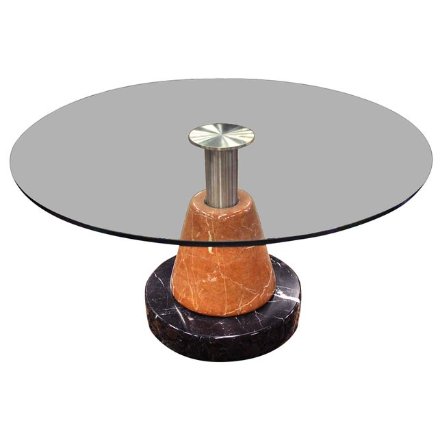 B&B Italia Marble Base Dining Table - Image 1 of 7