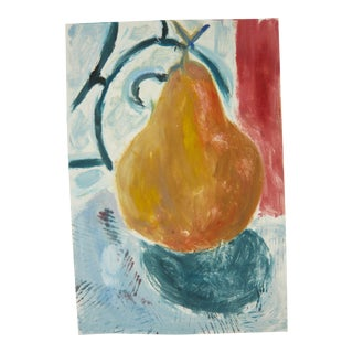 Autumn Pear Painting
