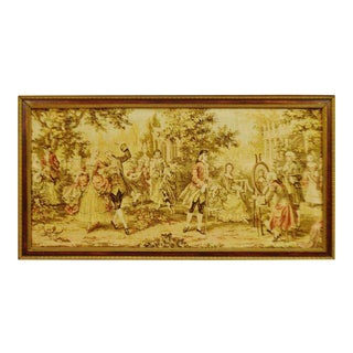 Early Framed Tapestry Wall Art