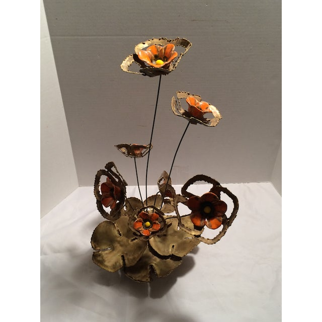Brutalist Poppy Arrangement - Image 4 of 7