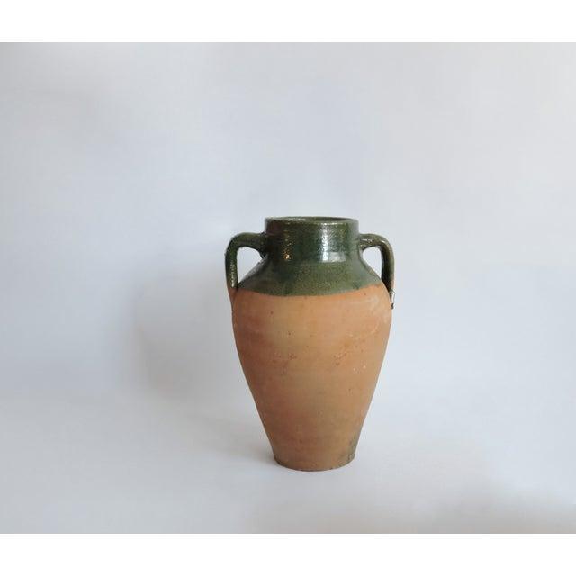 Large Antique Turkish Olive Jar. Pottery - Image 5 of 5