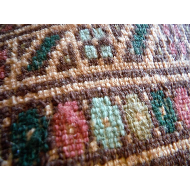 Knotted Persian Oriental Rug - 3′5″ × 8′2″ - Image 9 of 9
