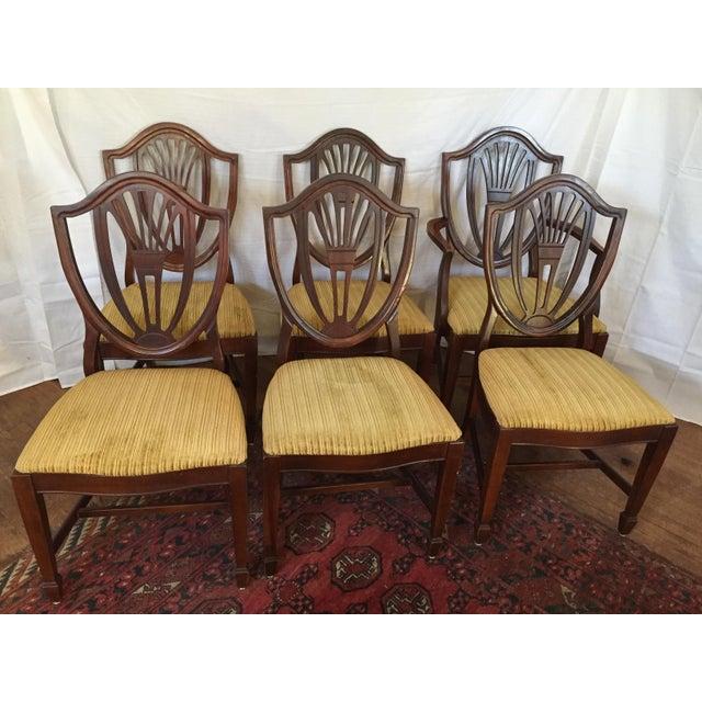 broyhill hepplewhite style federal dining room set chairish