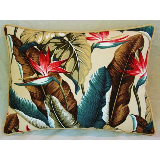 Image of Custom Tropical Bird of Paradise Pillows - A Pair
