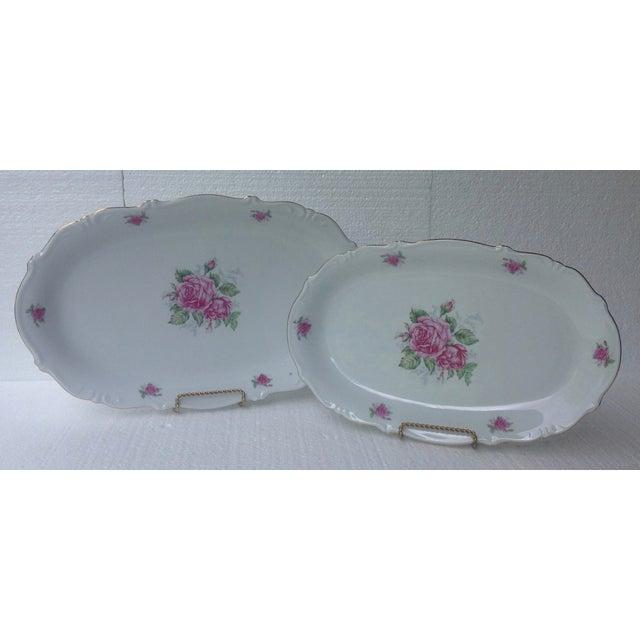 Bavarian Pink Rose China Set - Set of 84 - Image 4 of 8