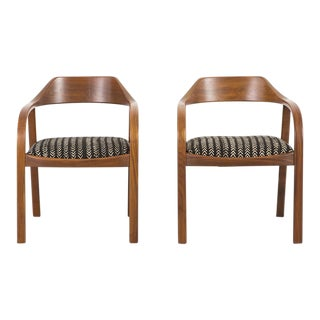 Set of Risom - Marble Corporation Lounge Chairs