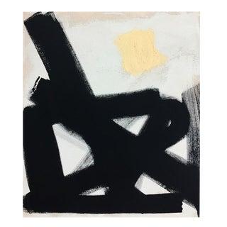 "Abstract Black Path No. 1 - 30"" x 40"""