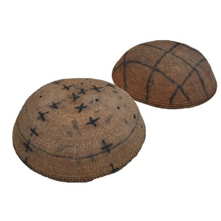 Yanomami Amazon River Basin Baskets - A  Pair