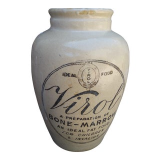 Large Victorian Bone Marrow For Invalids Jar