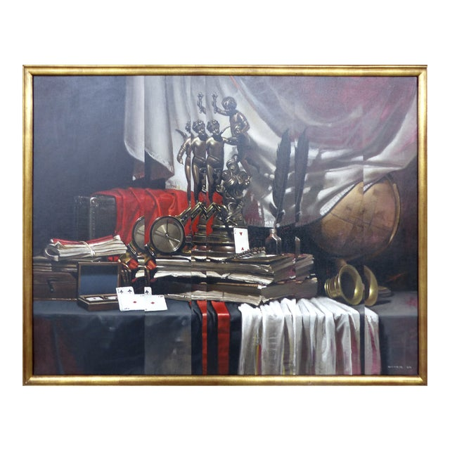 Still Life w/ Letters by Diego Dayer - Image 1 of 11