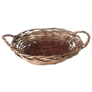 Two-Handled Golden Basket