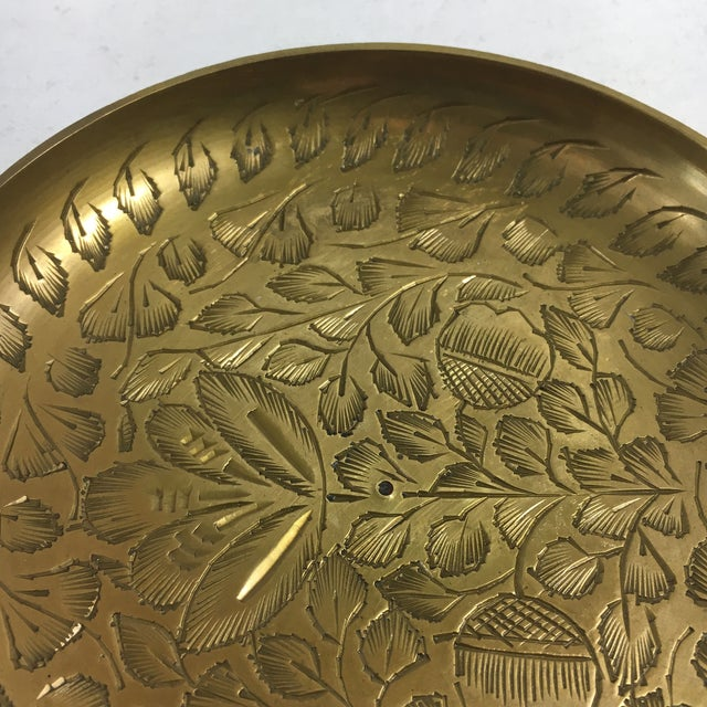 Image of Vintage Indian Brass Ashtray