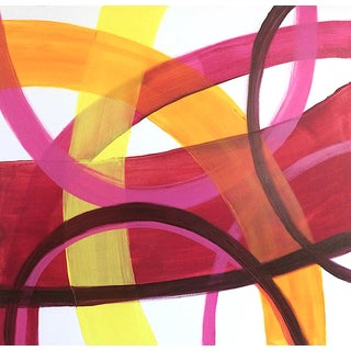 'Merengue' Original Abstract Painting By Linnea Heide