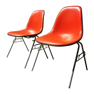 Herman Miller Eames Shell Chairs - A Pair