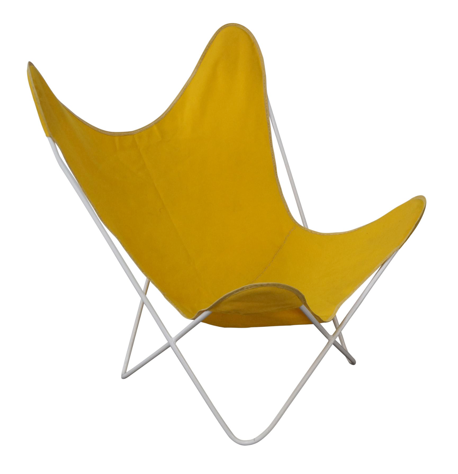 Awesome Knoll Hardoy Mid Century Modern Iron Frame Butterfly Chair