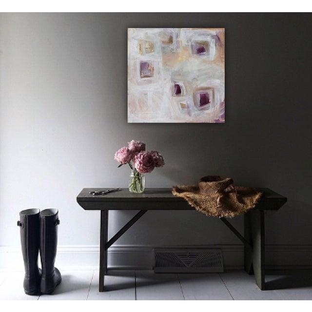 'Plum Pudding' Original Painting by Linnea Heide - Image 2 of 8