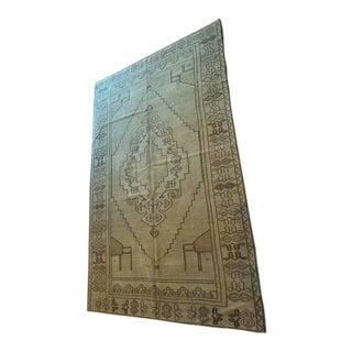 Antique Anatolian Turkish Sivas Rug - 4′11″ × 7′11″