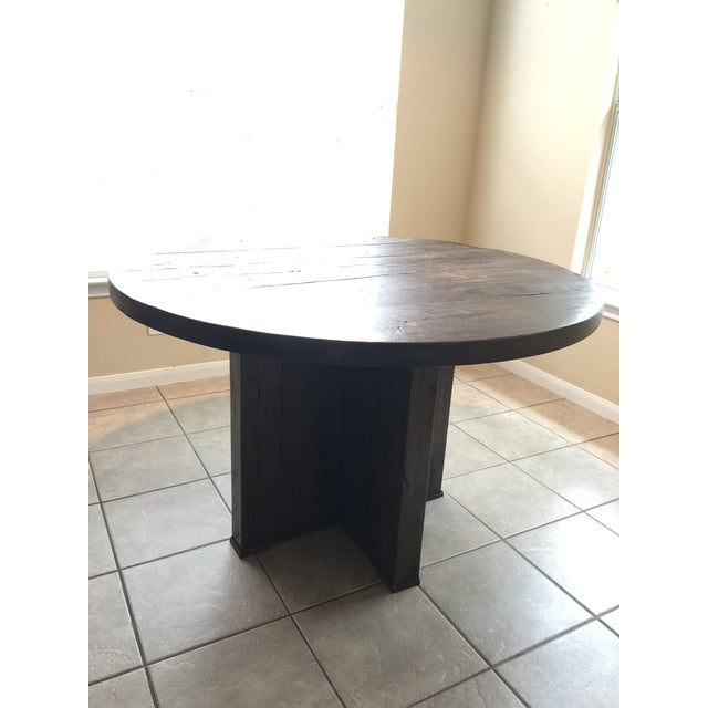 Restoration Hardware Reclaimed Russian Oak Table Chairish