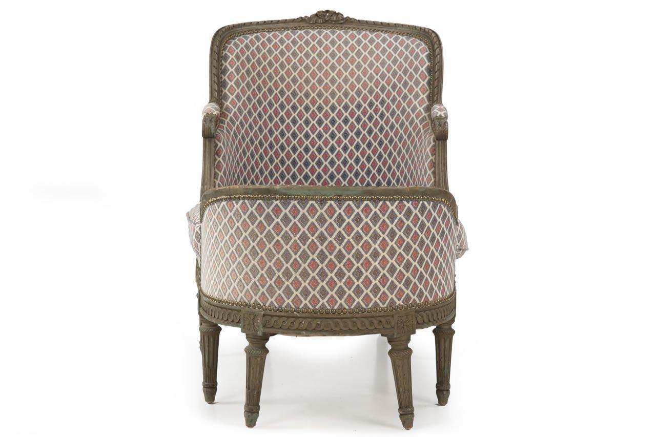 louis xvi style chaise lounge circa 1900 chairish