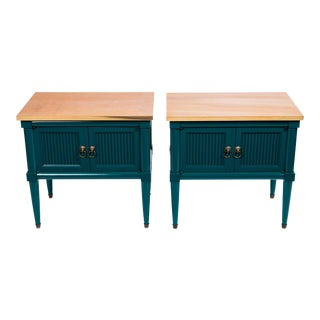 Vintage Side Tables - A Pair