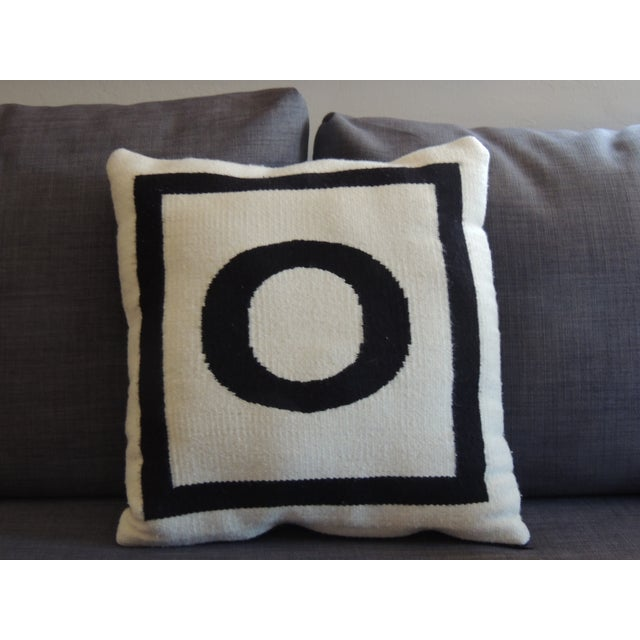 Jonathan Adler Woven Pillow - Image 2 of 4