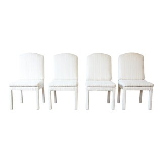 Milo Baughman Parsons Dining Chairs - Set of 4