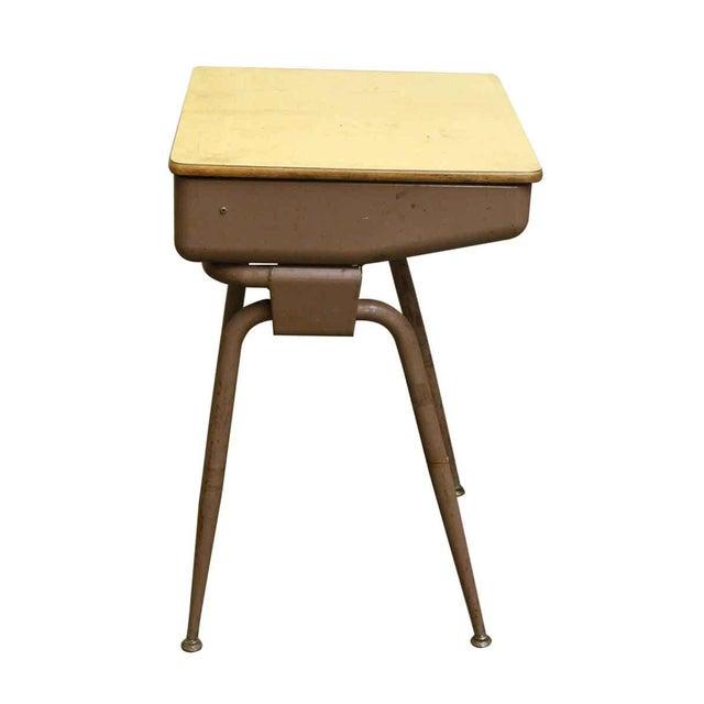 Mid-Century Modern School Desk - Image 6 of 7