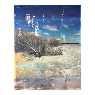 "Christine Bush Roman ""Kiawah"" Mixed Media Artwork"
