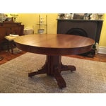 Image of Antique Arts and Crafts Period Dining Table