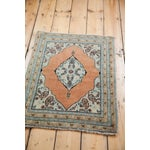 Image of Antique Persian Tabriz Rug - 2' x 2'9""
